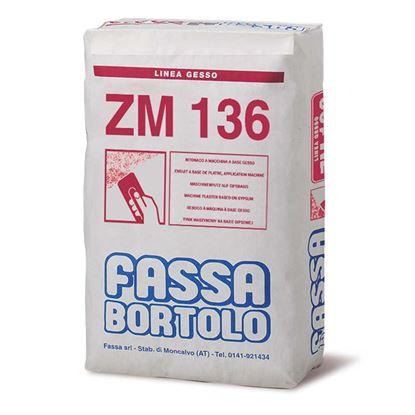 Immagine di ZM136 intonaco di lisciatura base gesso per interni 25 kg
