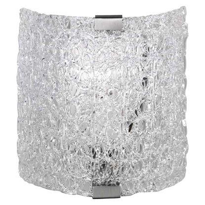 Immagine di Applique Sweety in acrilico, con sostegni in nickel, 20x20 cm