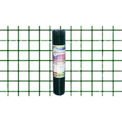 Immagine di Rete plastificata verde, maglia 13x13 mm, rotolo cm 100x10 mt