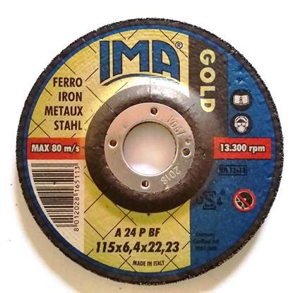 Immagine di Disco da sbavo per ferro, Ø230x6,4 mm