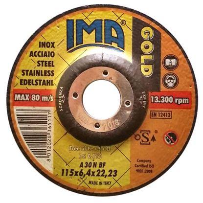 Immagine di Disco da sbavo per acciaio inox , Ø230x7 mm