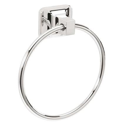 Immagine di Portasalviette ad anello, serie etna, acciaio cromato