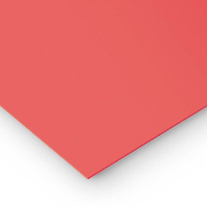 Immagine di Poli propilene compatto rosso, 100x50 cm
