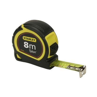 Immagine di Flessometro Tylon Stanley, cassa in ABS antiurto, nastro professionale, 3 mt