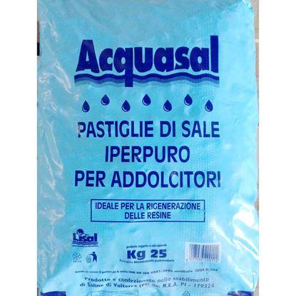 Immagine di Sale in pastiglie per addolcitori 25 kg