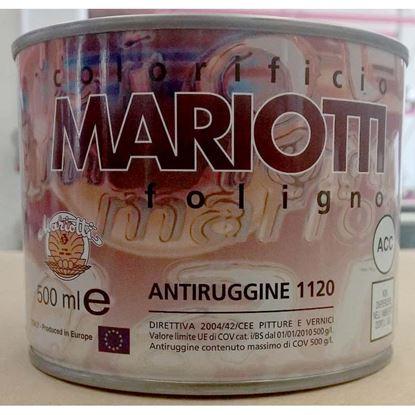 Immagine di Antiruggine sintetica, 0,5 lt, colore grigio