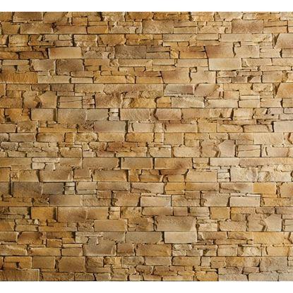 Immagine di Placchetta Borgo Bold 59x15 cm, mattoncino, da interno ed esterno, in cemento, spessore 3,5 cm, confezione da 0,60 m², colore sabbia