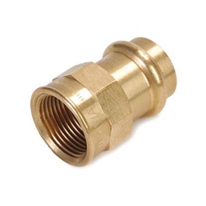 """Immagine di Nipple b-press gas Banninger, F 3/4""""x Ø 18 mm"""