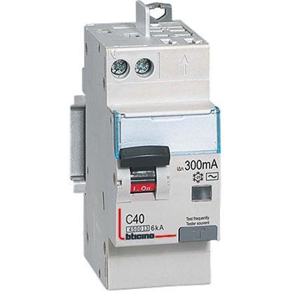 Immagine di Interruttore magnetotermico differenziale, AC, 1P+N, 4,5 kA, 30 mA, 25 A