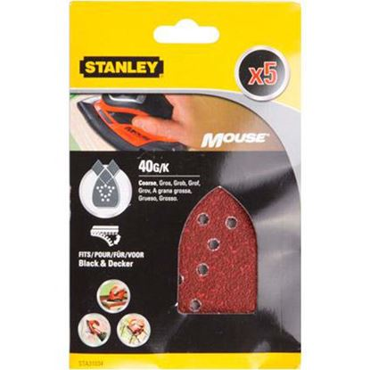 Immagine di 5 fogli Mouse, velcro, grana 40
