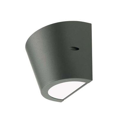 Immagine di Applique conica Umbe, alluminio pressofuso, attacco E27