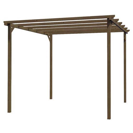 Immagine di Pergola in legno 300x300 cm,  243 cm