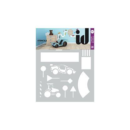 Immagine di Stencil doppi,  30x38, circuito