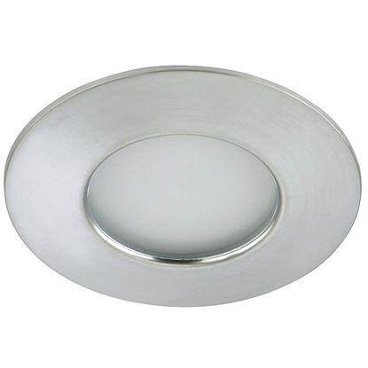 Immagine di Faretto LED 5W, incasso, Ø7,5 cm, IP44, 400 lumen, alluminio