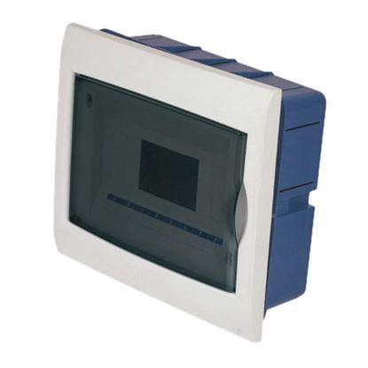 Immagine di Centralino Incasso sportello trasparente, IP40, 8 moduli