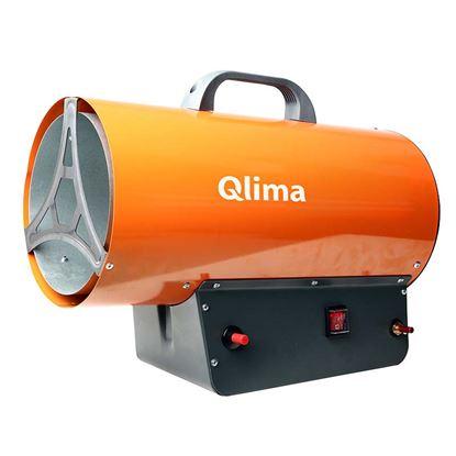 Immagine di Generatore aria calda a gas, anti-surriscaldamento, piezo elettrico, maniglia rinforzata, 30 kW