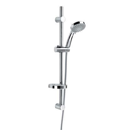 Immagine di Saliscendi, Lanusei, con doccia, cromo