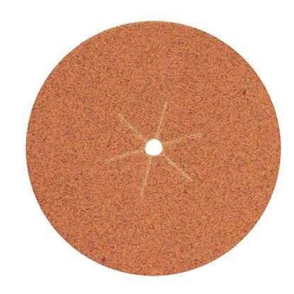 Immagine di 5 Fogli in fibra, per angolari, Ø115 mm, grana 24