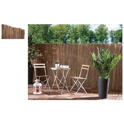 Immagine di Arella in canna di bamboo d.8-10mm legate con filo metallico 1x3 mt