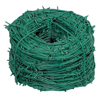 Immagine di Filo spinato plastificato, 2,2x100 mt
