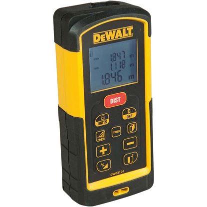 Immagine di Misuratore laser DeWalt, DW03101, portata massima fino a 100 mt, precisione 1 mm