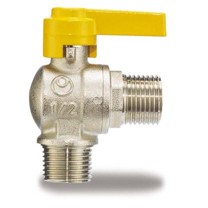 "Immagine di Rubinetto gas, IVR, squadro MM 1/2""x1/2"""