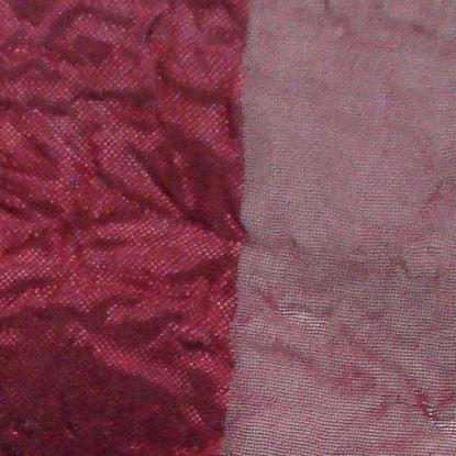 Immagine di Coppia tenda Ambra, in organza, 140xh280 cm, colore bordeaux