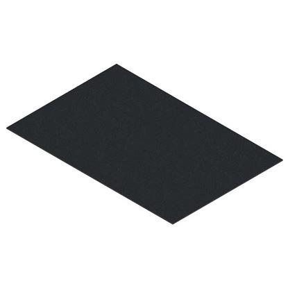 Immagine di Filtro cappa, carboni attivi, colore nero, 40x80 cm
