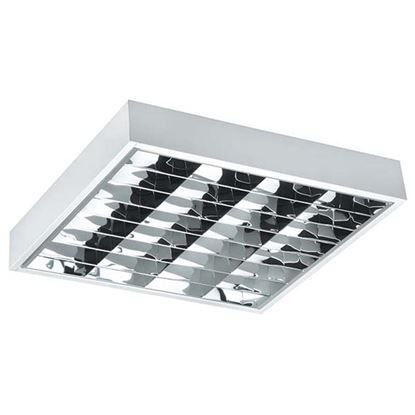 Immagine di Plafoniera sporgente dark light 2x58w elettronica